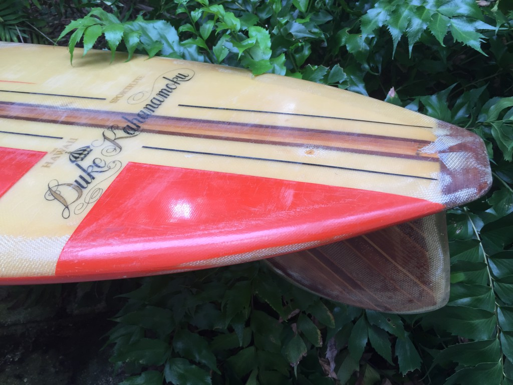 Duke Kahanamoku Surfboards Label