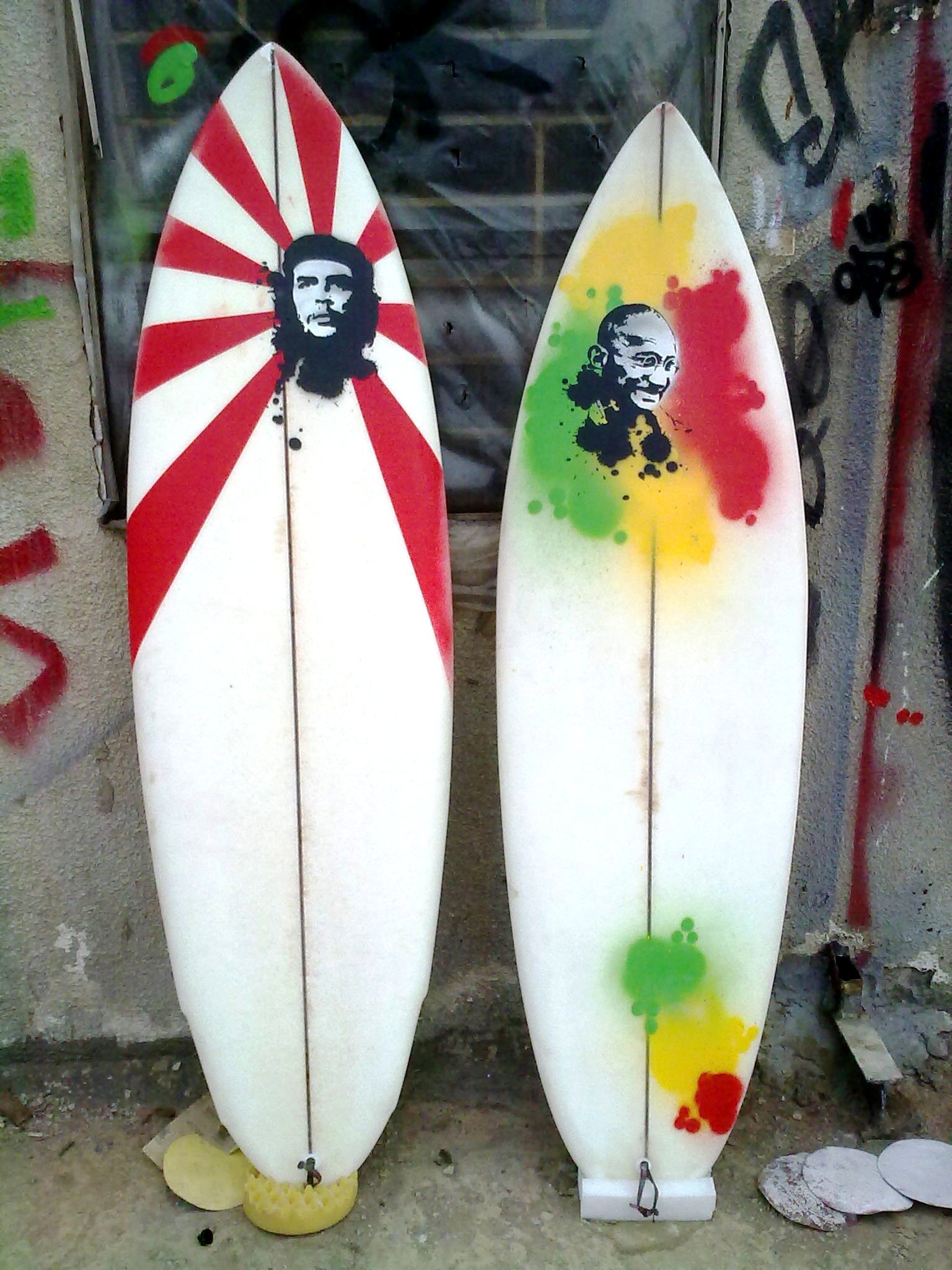 Paul Abbas Shortboards Hand Shaped In Lebanon