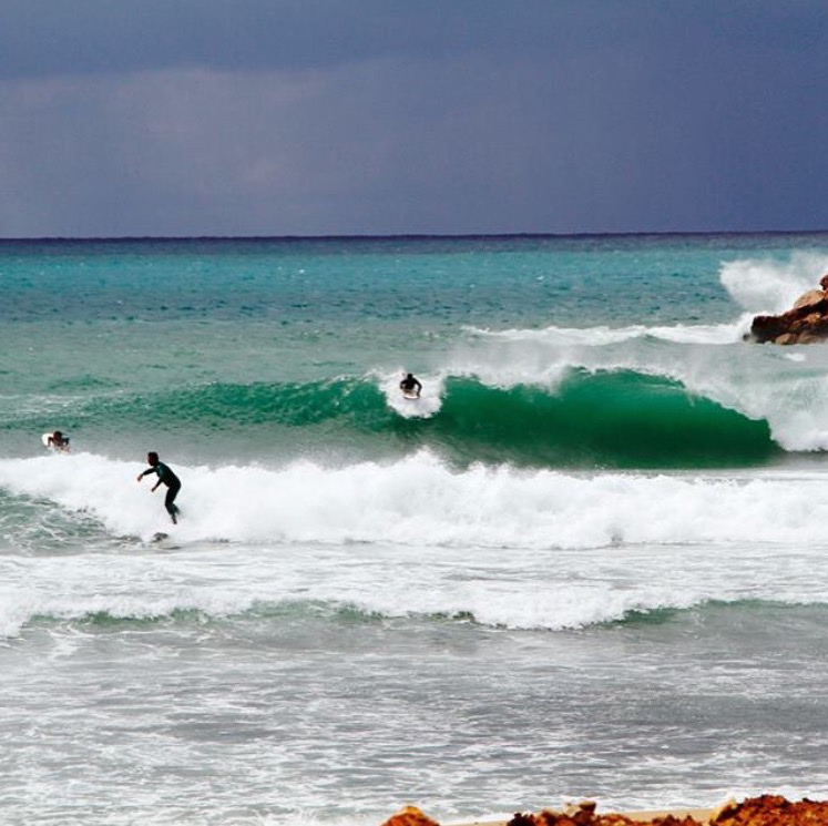 Surfing In Lebanon Photo: Surf Lebanon @surflebanon