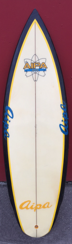Terry Senate Aipa surfboard
