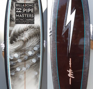 2015 Pipeline Masters Trophy Board