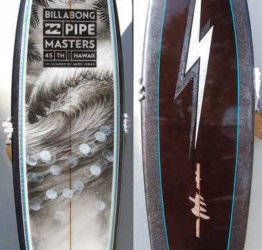 2015 Pipeline Masters Trophy Board