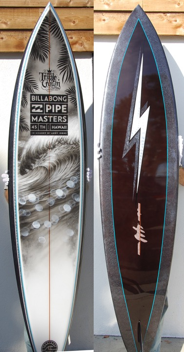 2015 Gerry Lopez Pipeline Master Trophy Board