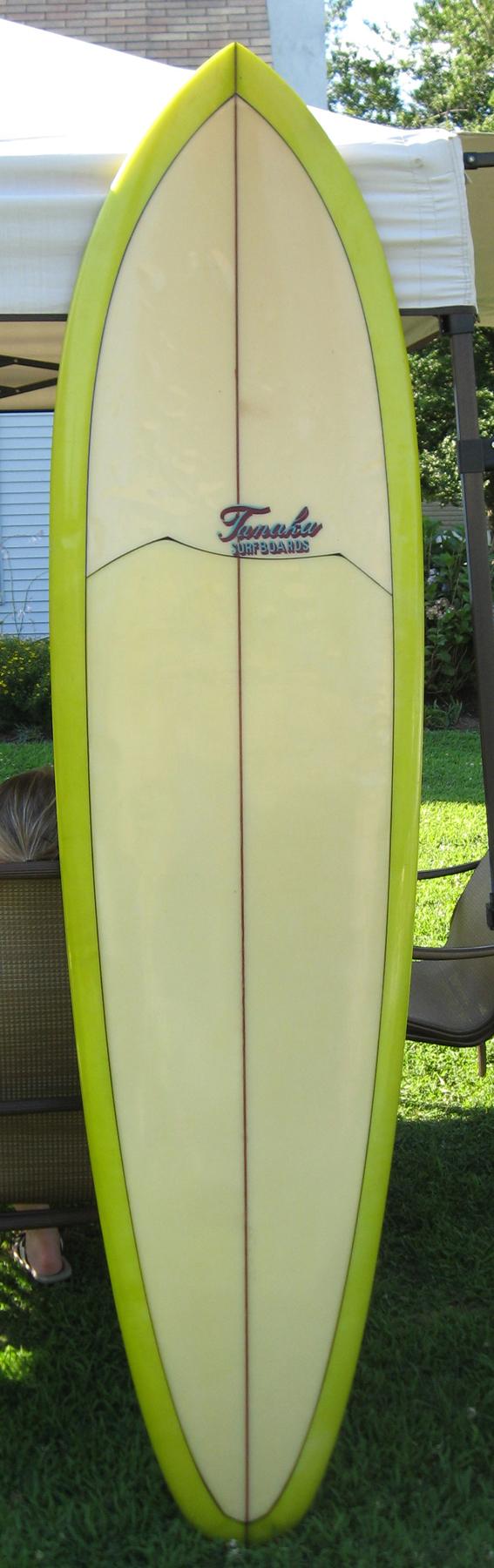 Ernie tanaka surfboard