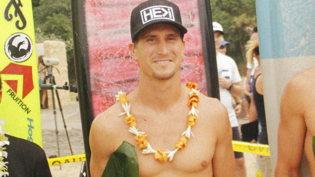 "The Story Behind The Board With Aaron Gold — A Self-Shaped 10'2"" Pe'ahi Gun"