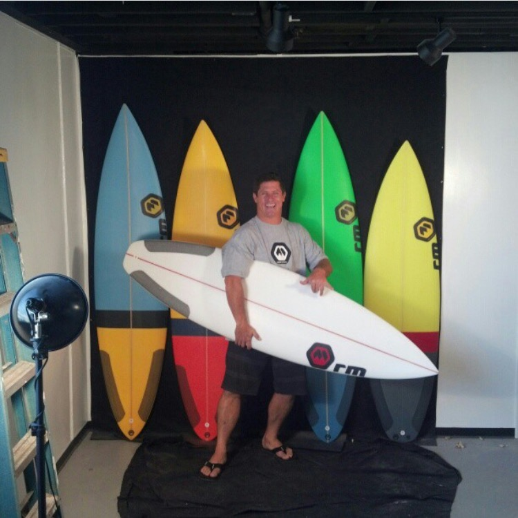 Dave Wassel's Ron Meeks summer quiver Photo: Courtesy of Ron Meeks