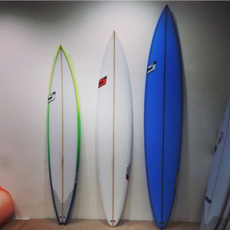 Studer Surfboards Guns
