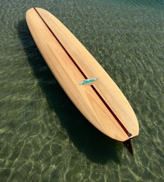 Josh Martin Hobie balsa longboard