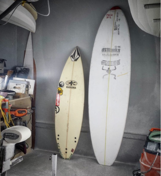 Reshaping Dusty Payne's old magic board