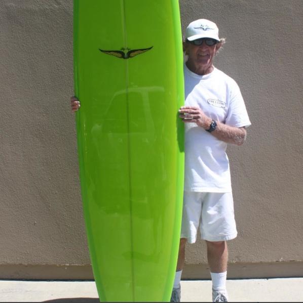 Skip Frye Green Longoard