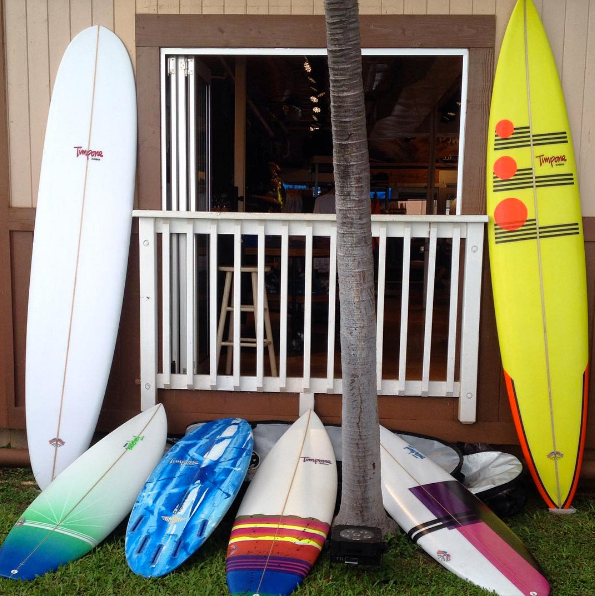 Timpone Surfboards Quiver