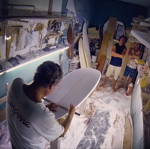 Timpone Surfboards Shaping Bay