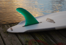 "Ryan Polfer's ""Polfer Hull""  Single Fin Design"
