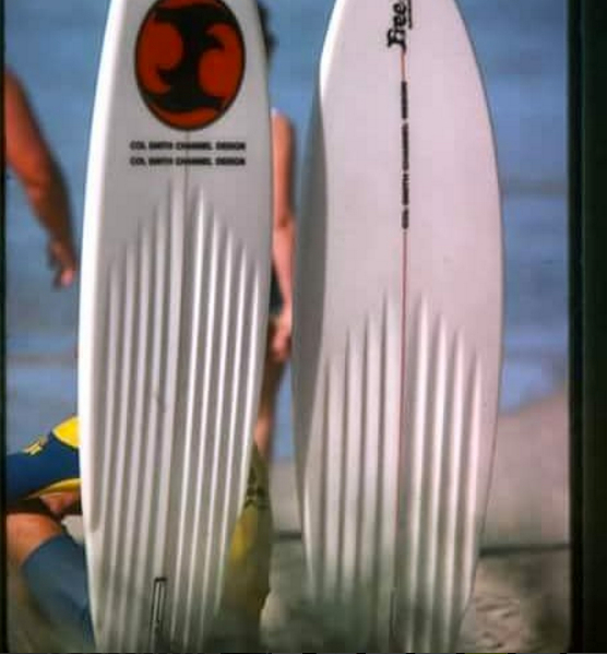 Free Flight Surfboards Channels
