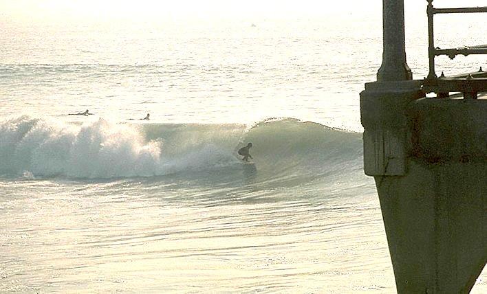 Bruce Gabrielson Surfing